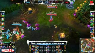 [GPL 2014 Mùa Đông] [Tie - Breakers] Singapore Sentinels vs Neolution Full Louis [30.11.2013]