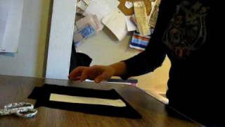 3 Cutting Out The Collar Pattern.avi