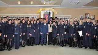 Голова Національної поліції України Хатія Деканоідзе відвідала ХНУВС
