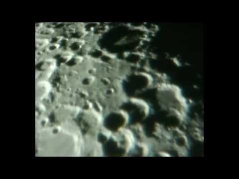 Close Up Moon footage filmed Dec 2008 - Truth's Protective Layers