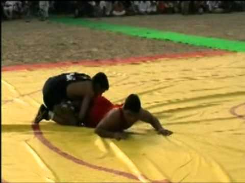 muhammad salman fight with indian wrestler.mpg
