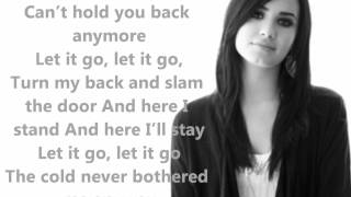 Let It Go Frozen Demi Lovato Official Lyrics :)