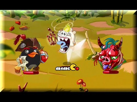 Angry Birds Epic - Rescued First Two Eggs Gameplay Show Compilation Part 1