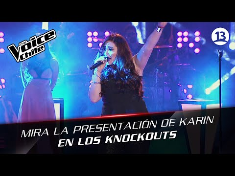 The Voice Chile | Karin Cáceres - What's up