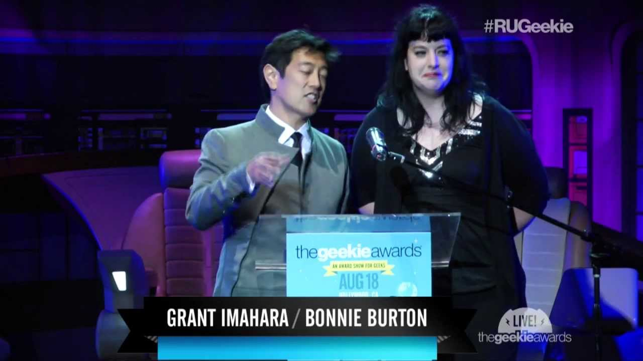 The Geekie Awards 2013: The Pumpkin Geek Wins 'Best Art / Craft' with Grant Imahara, Bonnie Burton