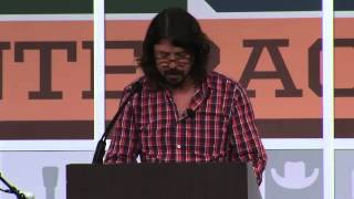 SXSW MUSIC VIDEO: Dave Grohl Keynote Speech