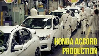 Honda Accord Production - Marysville Auto Plant