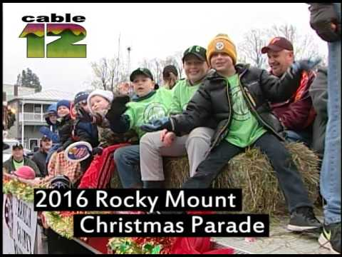2016 Retail Merchant's Rocky Mount Christmas Parade