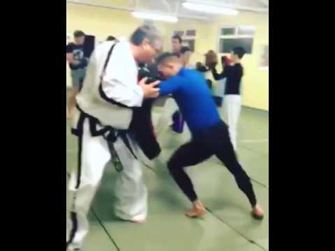 Conor McGregor is still TaekwonDo ITF training