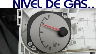 Como funciona la aguja de nivel de combustible