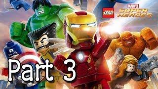 LEGO: Marvel Super Heroes Hawkeye & Black Widow Part 3
