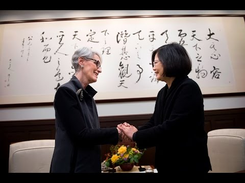 President Tsai meets former US Under Secretary of State for Political Affairs Wendy Sherman