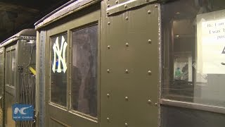 MTA runs vintage train for Yankees' Opening Day