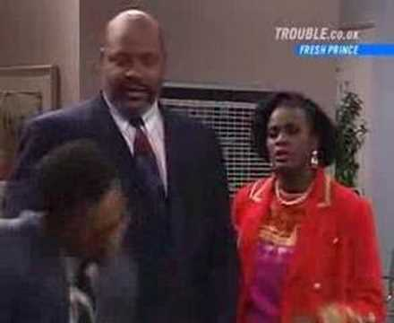 Carlton Banks Dancing to Oprah Theme