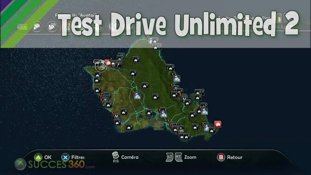 casino test drive unlimited 2 map