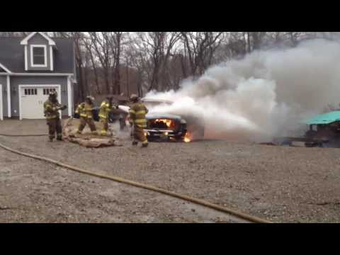 January 6, Vehicle fire