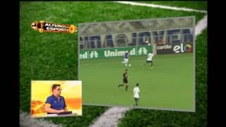 Torcedores cruzeirenses vaiam gol palmeirense e n�o recebem apoio da bancada