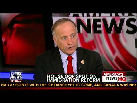 Congressman Steve King -- Fox News Sunday -- Immigration