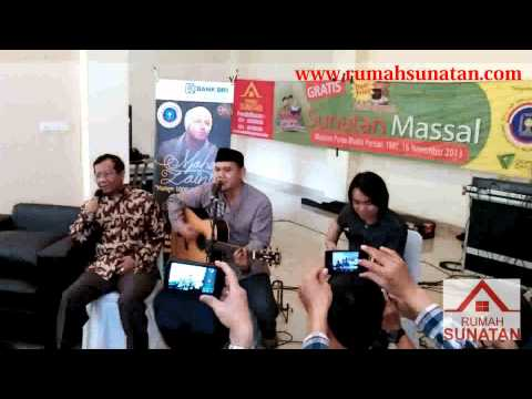 video bpk mahfud MD feat fadly padi sunatan masal rumah sunatan new
