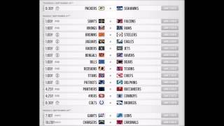 Week 1 Predictions For The 2014 NFL Season