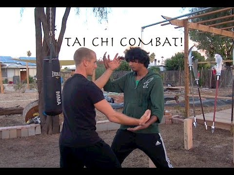Combat TAI CHI - Real Sticky Hands!