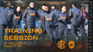 INTER vs LUDOGORETS | PRE-MATCH LIVE TRAINING SESSION | 2019-20 UEFA EUROPA LEAGUE ⚫🔵?