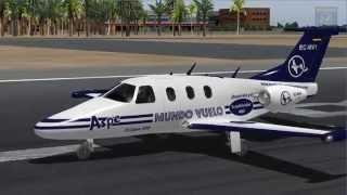Flight Simulator - Vuelo completo instrumental Alicante - Barcelona