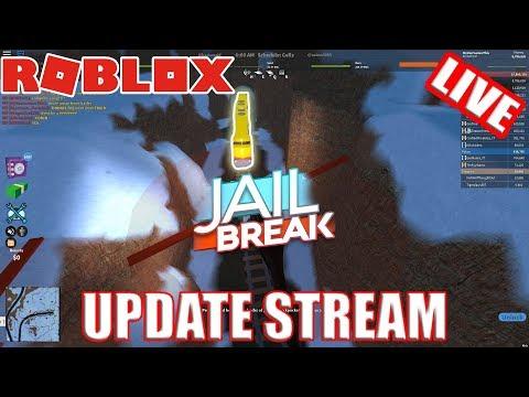 100k SUBS LIVESTREAM | Roblox Jailbreak SNOW SHOVELING SIM RANDOM STUFF