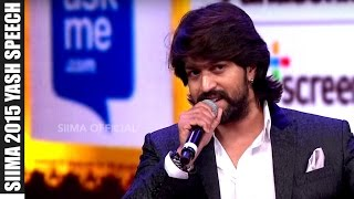 Yash Awarded As Best Actor Kannada