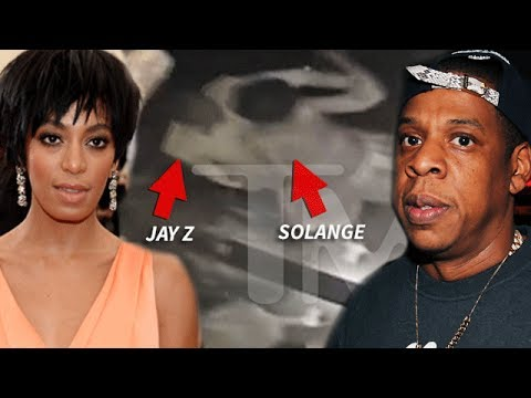 Beyonce's Sister Solange PHYSICALLY ATTACKED Jay Z