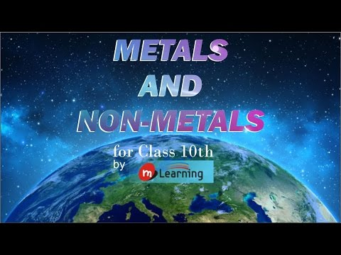 Metals and Non Metals 01