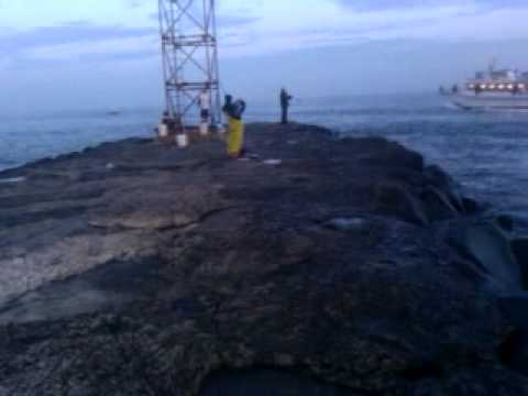 Fishing shark river inlet in belmar nj youtube for Belmar nj fishing