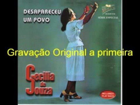 CECILIA DE SOUZA - CD DESAPARECEU UM POVO - ( A 1ª )