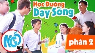 Phim Hài Ngắn 2017 - Trọn Bộ Học Đường Dậy Sóng Phần 2 - Kênh Ngố TV