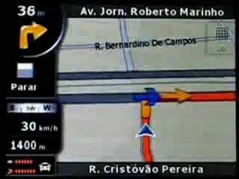 GPS Foston FS430 FS430N FS470 FS700 e FS707 - Demonstração de Como Funciona