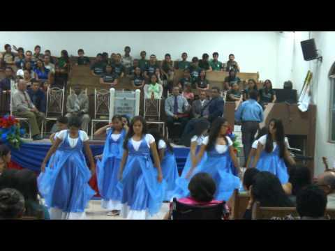 Metade do Filho Ariely Bonatti - Grupo de Coreografia Evangelica Quanta Gloria -