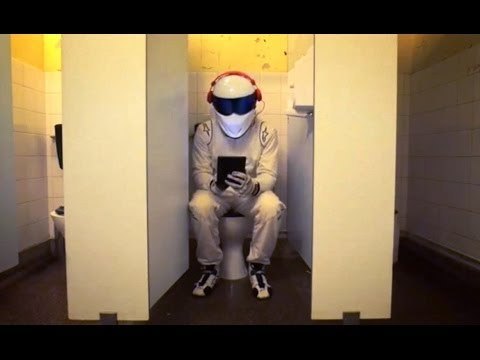When he's not driving - The Stig's Teenage Cousin - Race The Stig - Top Gear