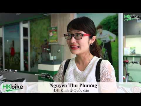 Gặp gỡ cô gái bốc thăm trúng xe đạp điện HKbike iTrend