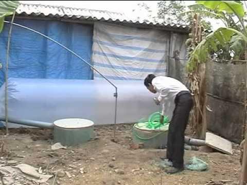 Cung cấp bình bể biogas bằng vật liệu composite