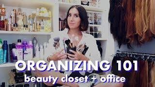 House Tour: ORGANIZING 101 | Beauty Closet, Pantry & Office | Jen Atkin