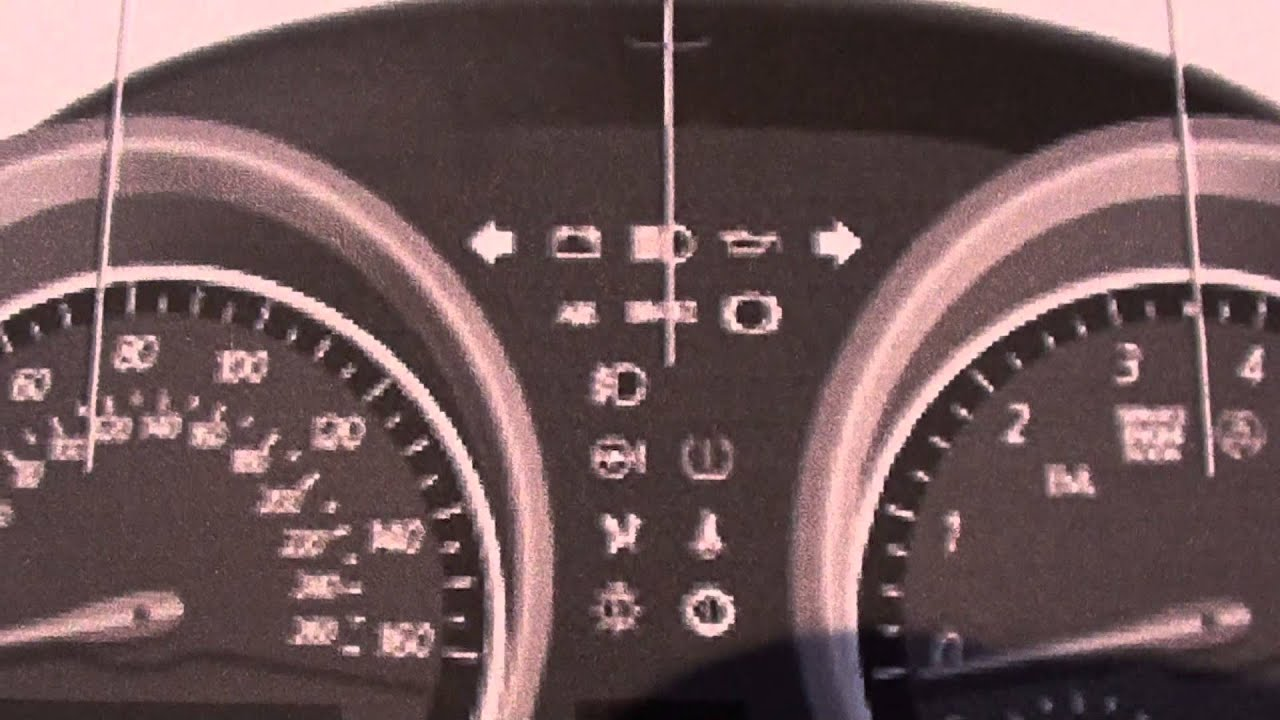 BMW Z4 Dash Lights & Warning Symbols - YouTube