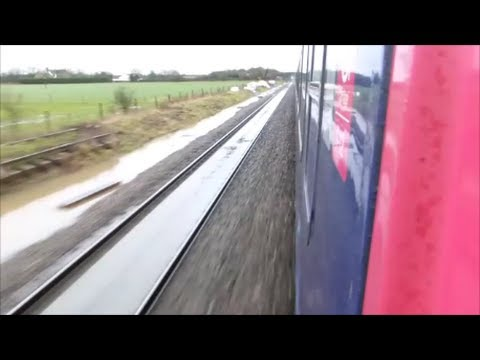 FGW HST Reading to Taunton | Flooding, Diversion & Disruption!