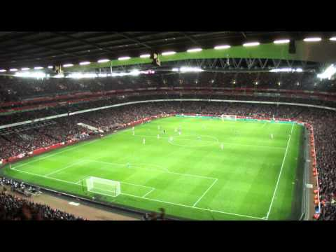 Arsenal 0-2 Chelsea - Ashley Cole's Won The European Cup (HD)