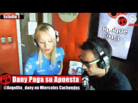 Daniella Chávez en Pegao en el Taco - Radio Carolina 99.3