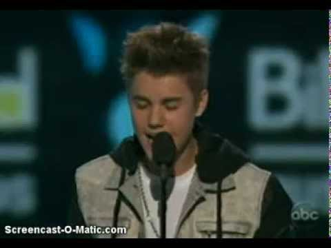 Justin Bieber wins Social Award at 2012 Billboard Awards EXCLUSIVE