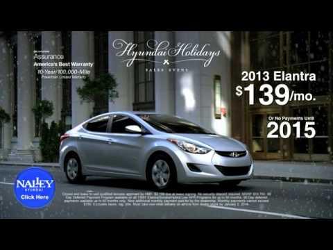 Naley Hyundai Holiday Sales Event Elantra Conyers GA Covington GA