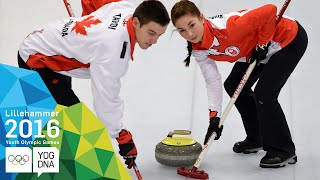 Curling Mixed Team - Canada win gold | Lillehammer 2016 Youth Olympic Games