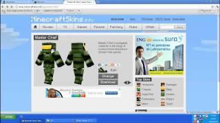Como Poner Skin En Minecraft Y Ademas Que Funcione Online