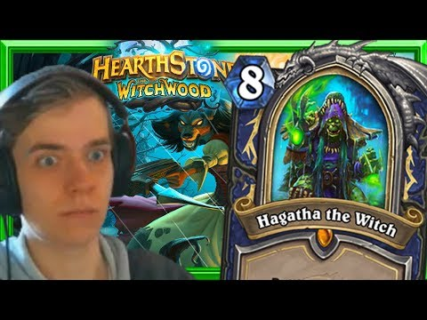 The New Shaman Hero Card Hagatha Is Insane! Witchwood Card Review Part 1