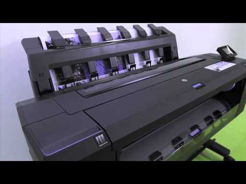 HP Designjet T920 and T1500 printer -  Product Overview